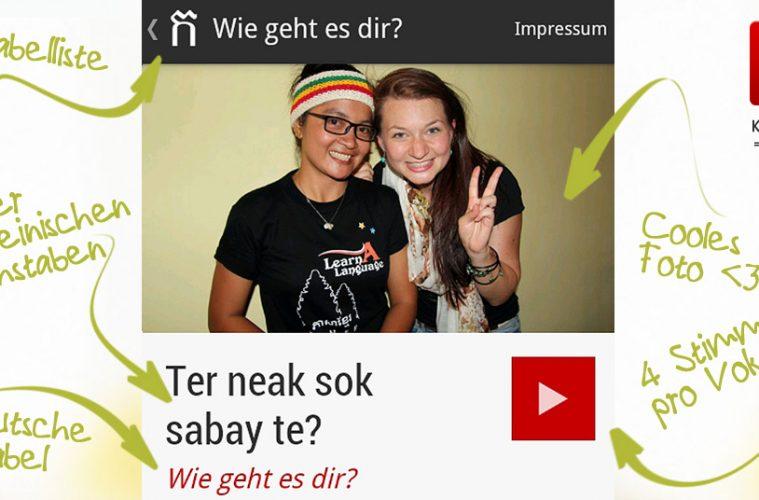 Khmer4You Deutsch - Khmer lernen