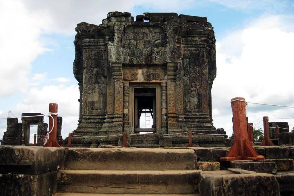 Phnom Bakheng - einer der vier Hügel rund um Angkor
