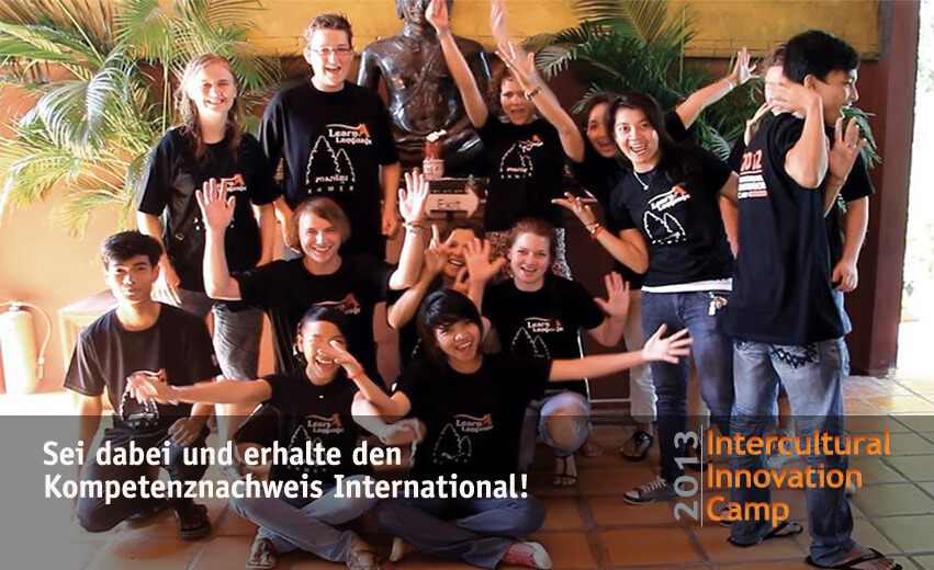 Jugendbegegnung: Intercultural Innovation Camp