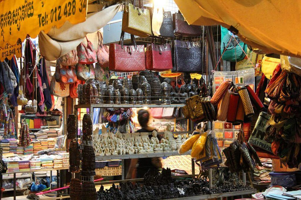 Nachtmarkt in Siem Reap