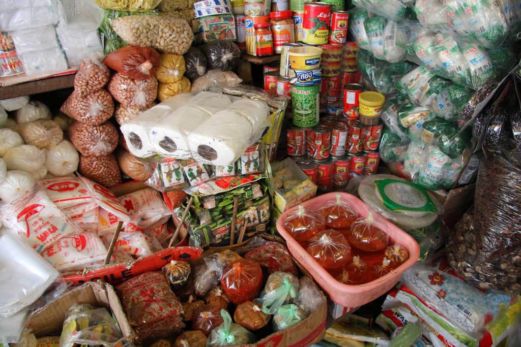 Ein buntes Panoptikum an Waren und Gerüchen