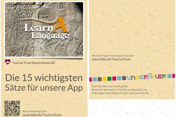 Die Khmer Sprach Applikation bei unserAller