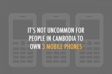 Social Digital and Mobile in Cambodia report by we are social Okt. 2012