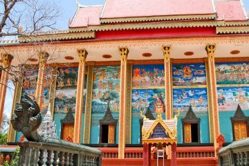 Viele Menschen sind sehr abergläubisch in Kambodscha