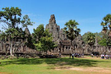 Der Bayon Tempel - das Zentrum der Stadt Angkor Thom