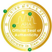 Siegel der Angkor Handicraft Accociation
