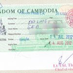 Touristenvisum für Kambodscha