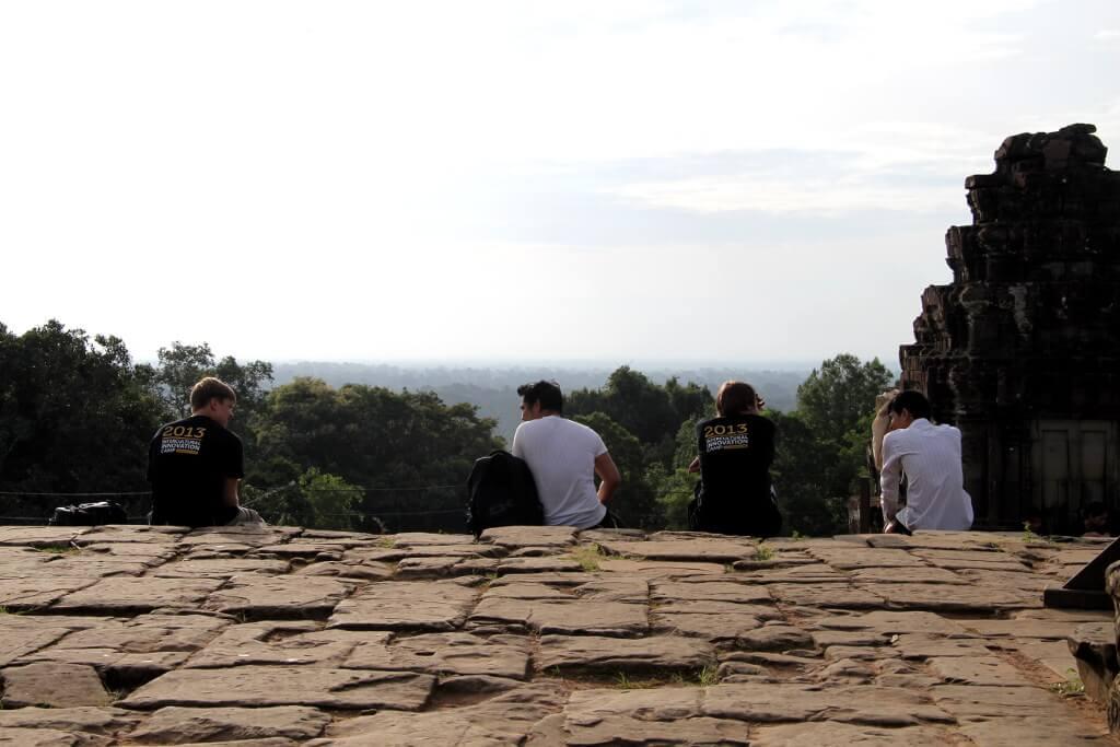 Aussicht von Phnom Bakhng