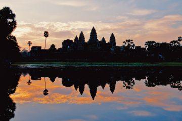 Sonnenaufgang Angkor Wat