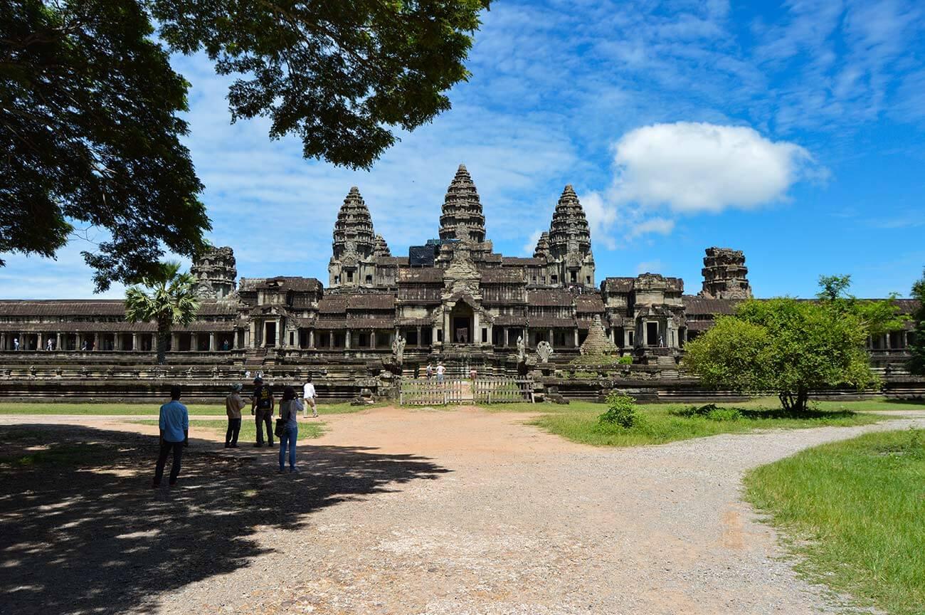 Angkor Wat - Osteingang - Gopuram