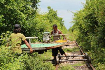 Norry - Dokumentation Kambodscha Bambusbahn