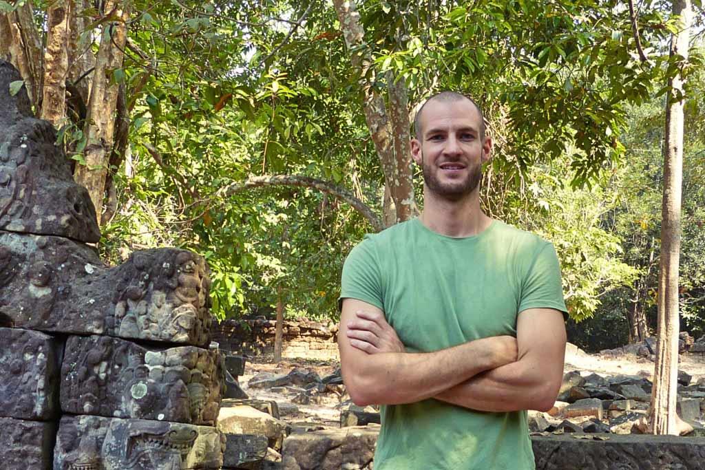 Patrick – der Typ vom Reiseblog Trip Angkor