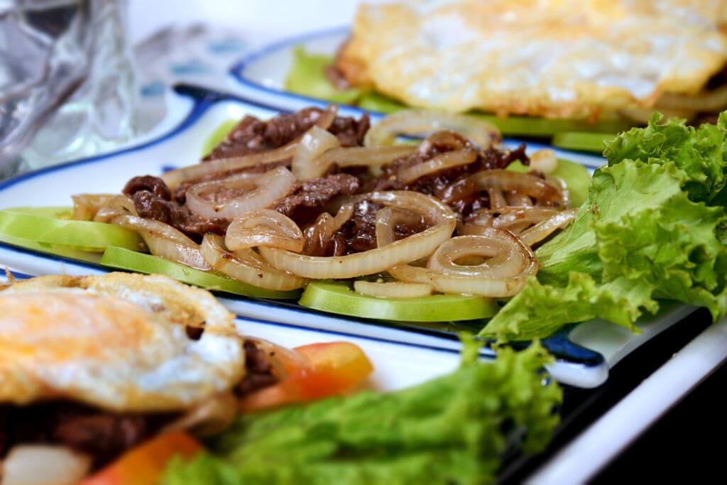 Beef Lok Lak - Kambodscha