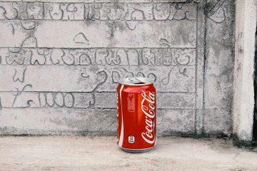 Cola-Dose am Phnom Krom