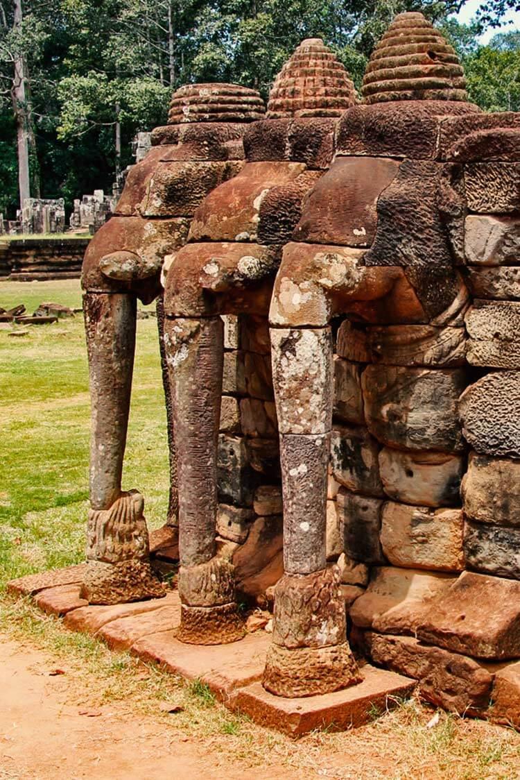Terrasse der Elefanten - Angkor