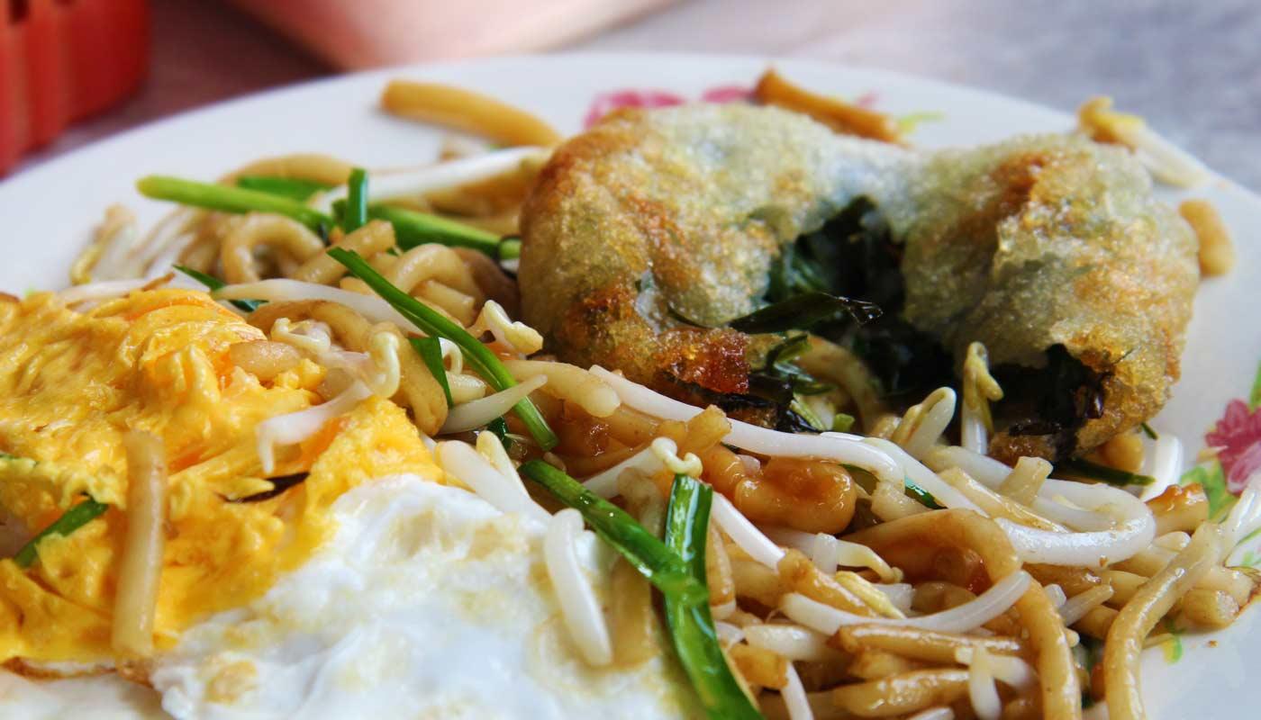 Essen in Siem Reap - Pshar Leu Markt Siem Reap