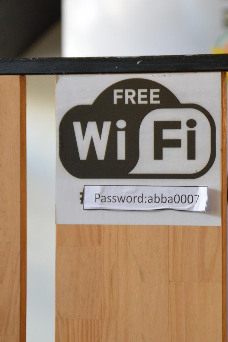 WiFi - ABBA Cafe, Siem Reap