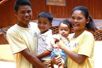 Artisans Angkor - Handwerkerfamilie in der Provinz Siem Reap