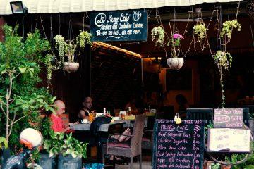 Meng Cafe Siem Reap, Eingang