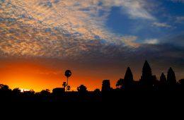 Angkor Wat Tempel - Sonnenaufgang, Kambodscha