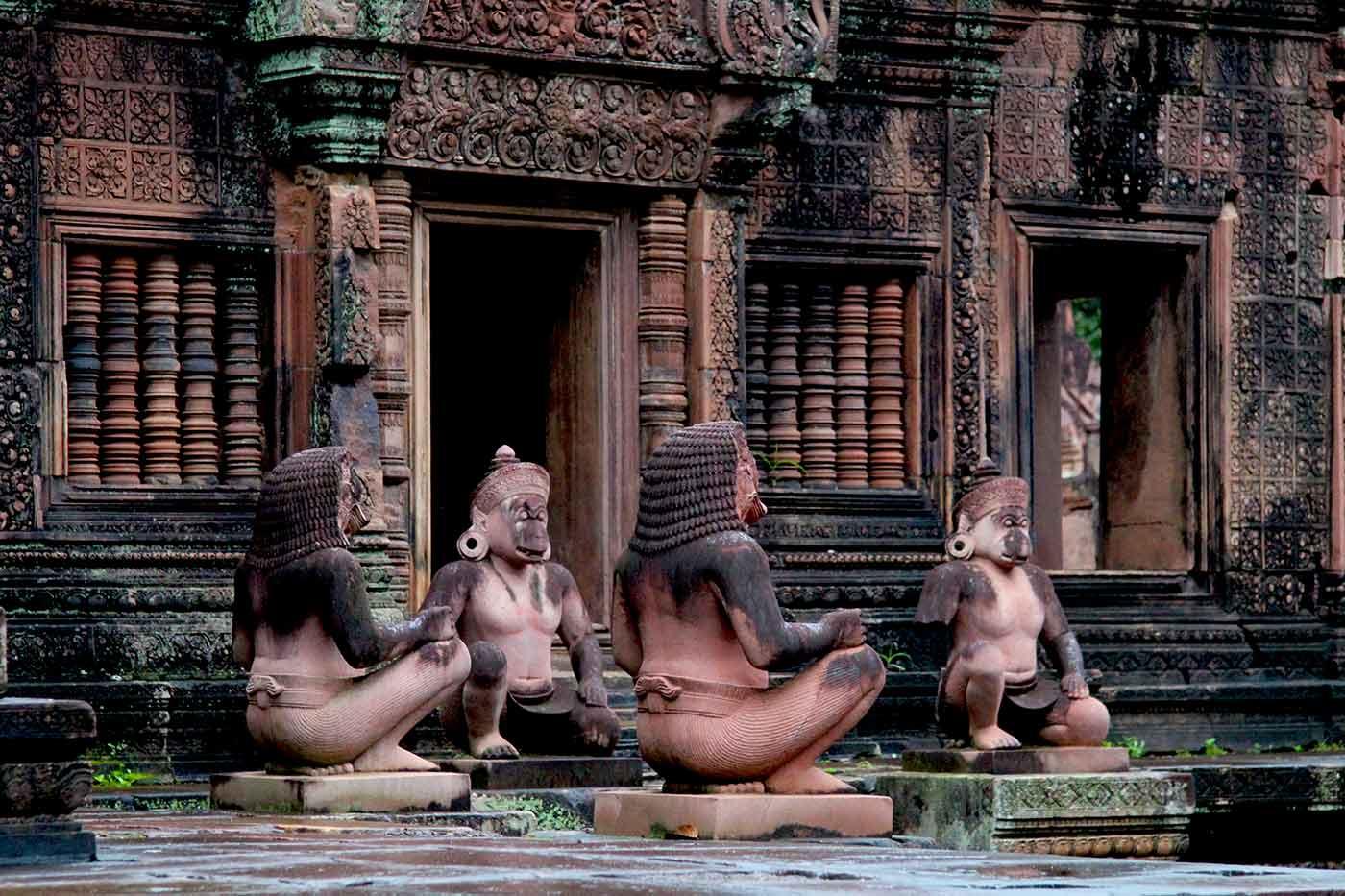 Banteay Srei - Angkor Tempel, Kambodscha
