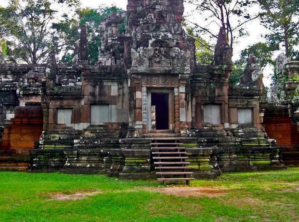 Chau Sey Tevoda - Angkor Tempel, Kambodscha
