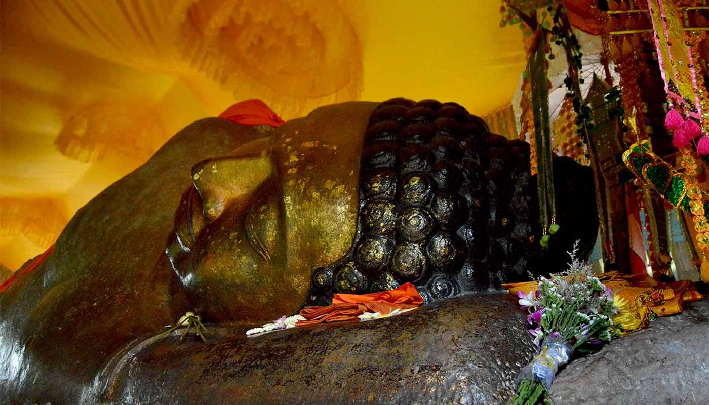 Phnom Kulen - Schlafender Buddha, Kambodscha