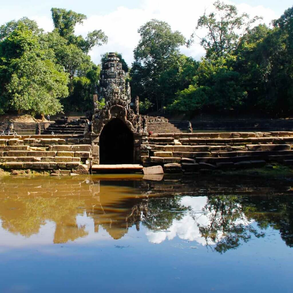 Neak Pean - Angkor Tempel, Kambodscha