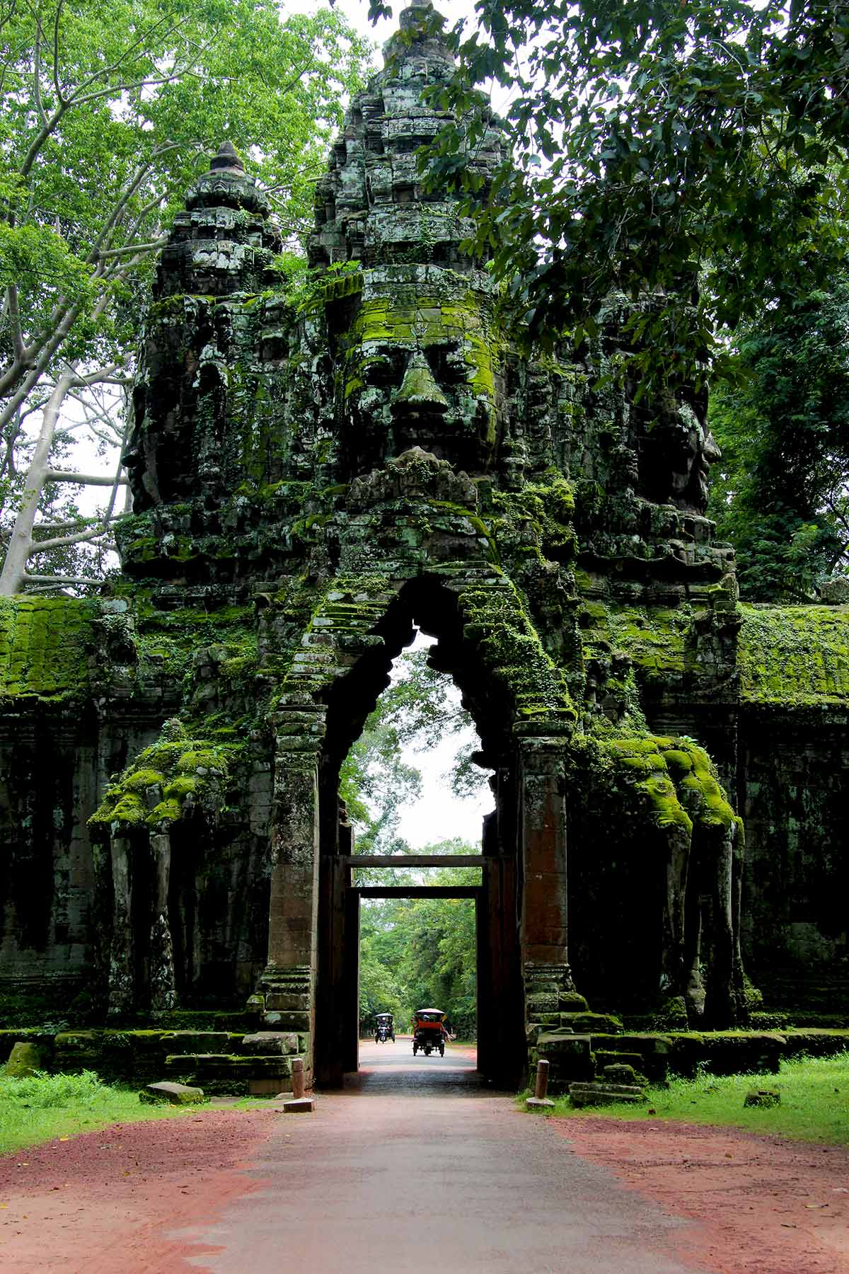 North Gate Angkor Thom, Kambodscha