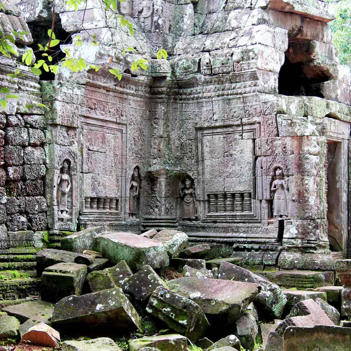 Ta Som - Angkor Tempel, Kambodscha