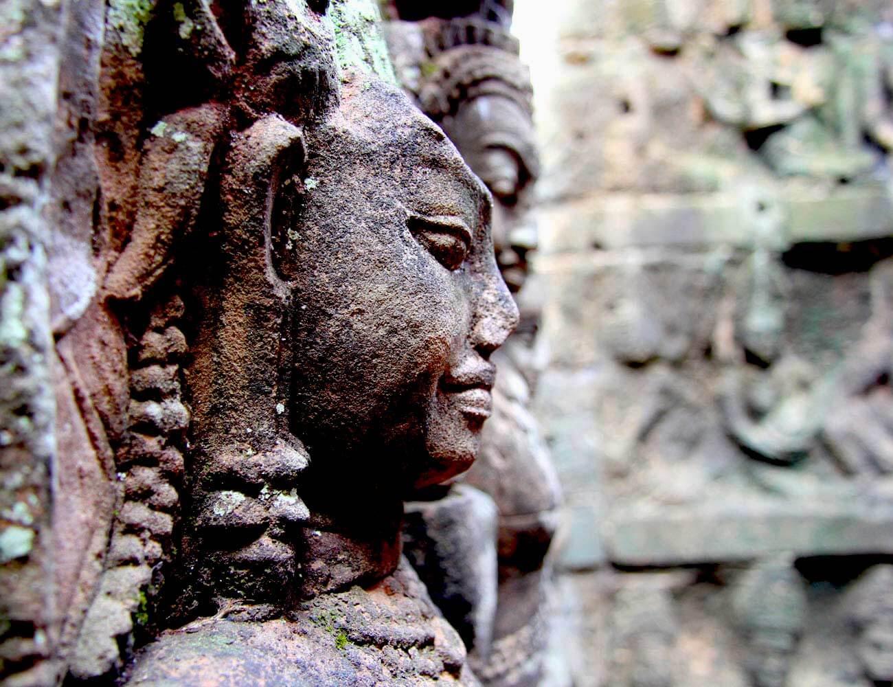 Terrasse Lepra König, Kambodscha