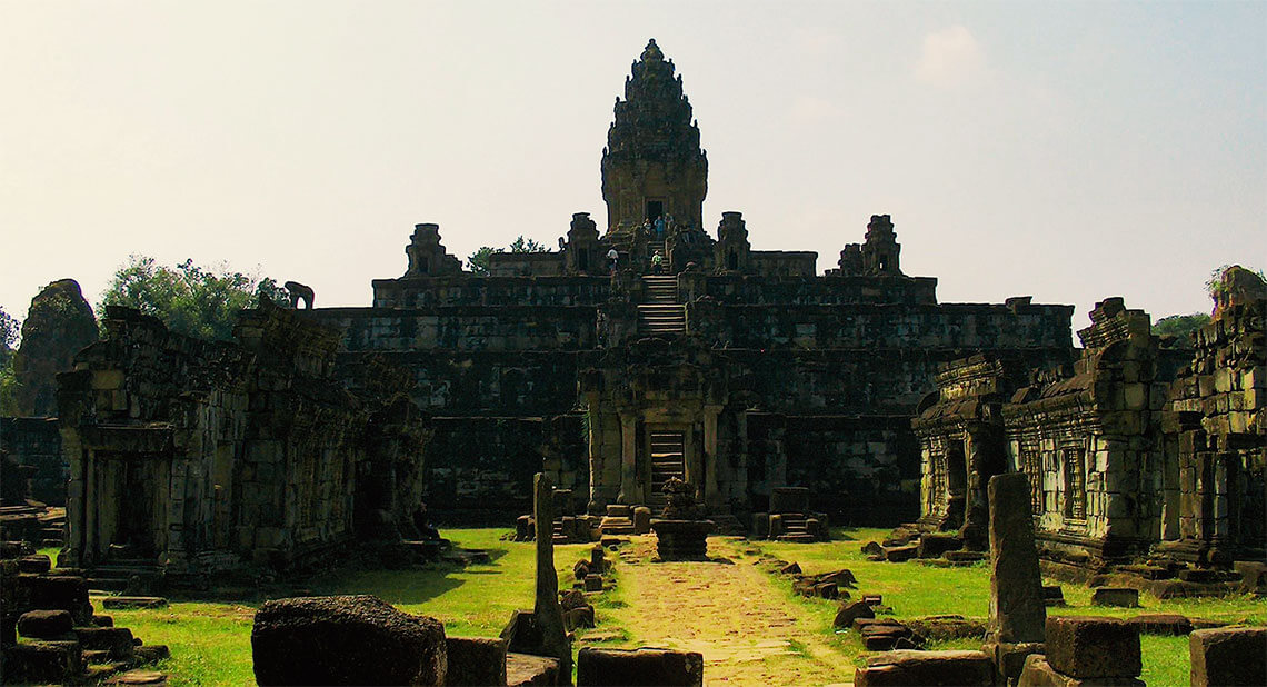 Bakong - Tempel der Roluos-Gruppe von Angkor