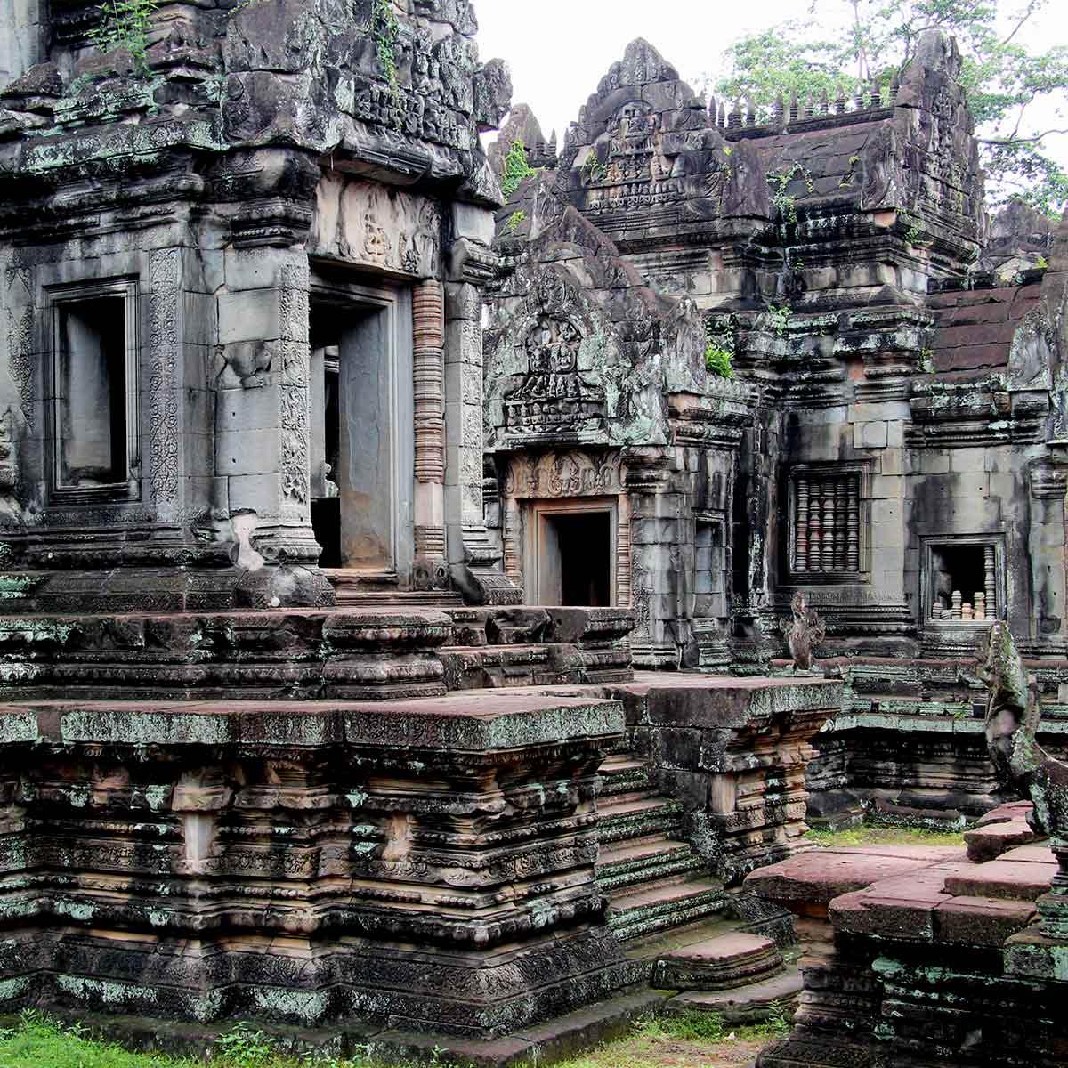 Banteay Chamre - Angkor Tempel, Kambodscha