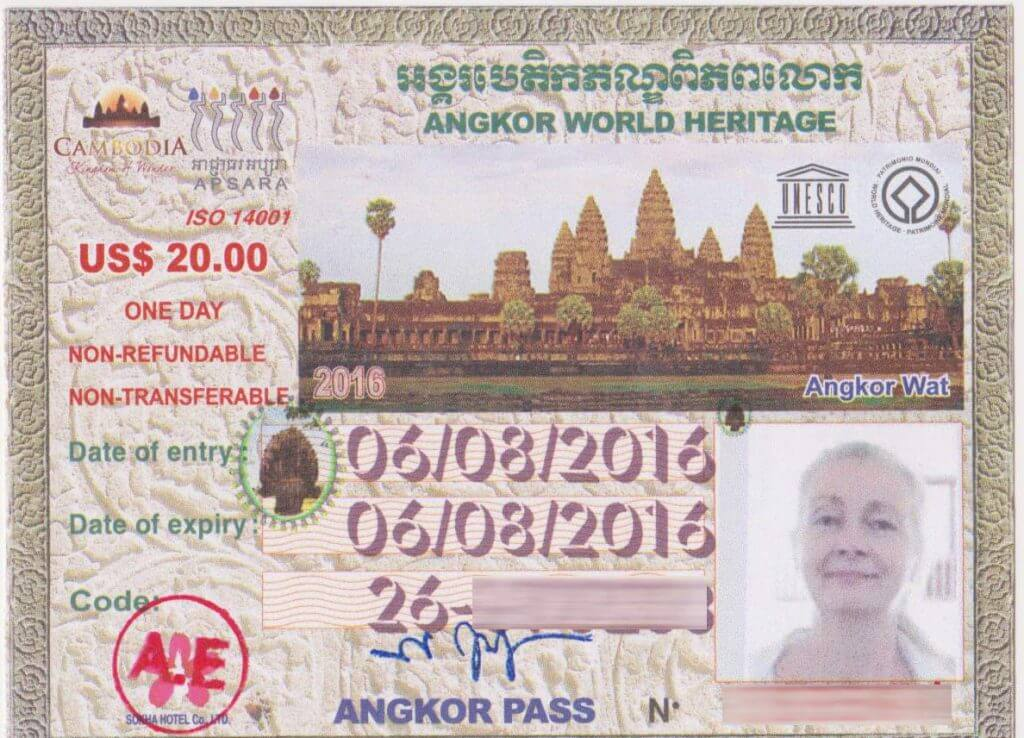 Angkor Ticket