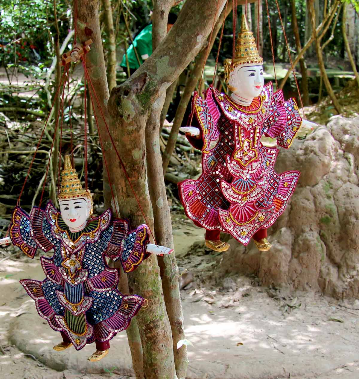 Figuren - Angkor Park, Siem Reap