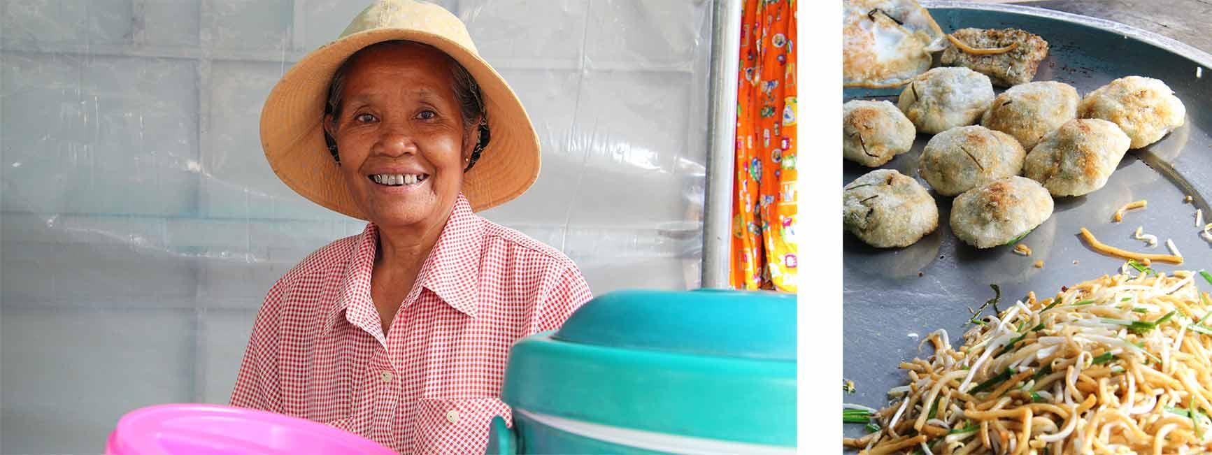 Marktfrau, Siem Reap
