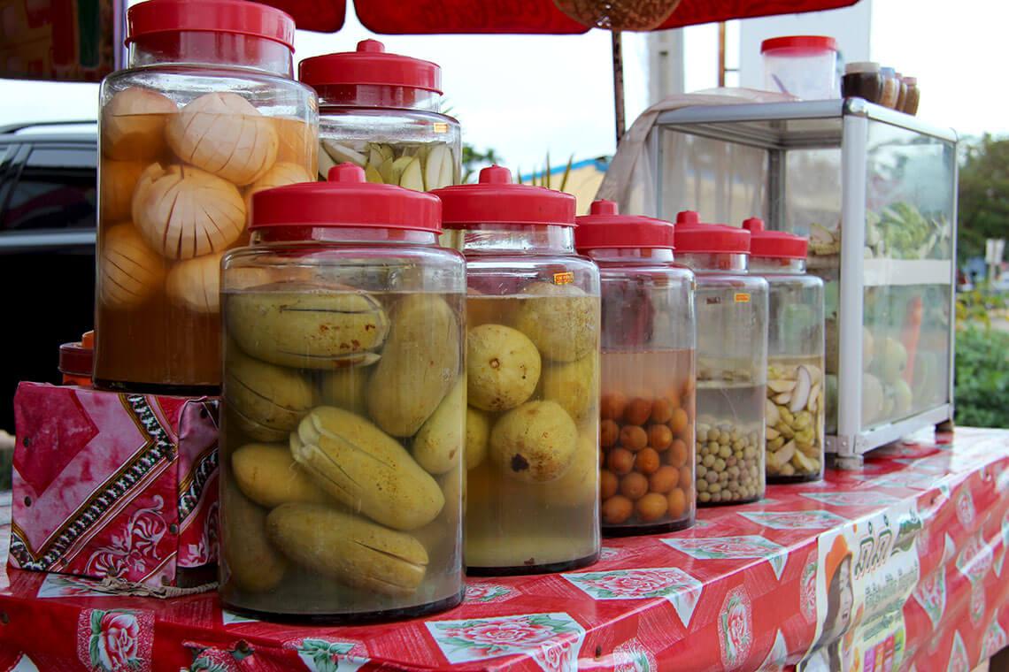 Eingelegtes Obst und Gemüse, Siem Reap