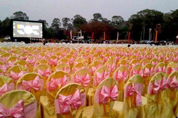 First they killed my Father - Filmpremiere von der Elefantenterrasse, Angkor Thom