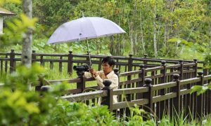 Ratanak - Angkor Tour Guide mit Kamera