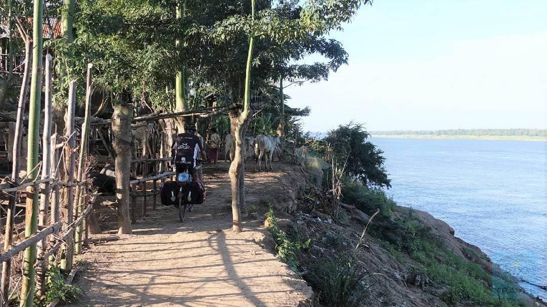 Am Mekong - unsere bisher längste Tour