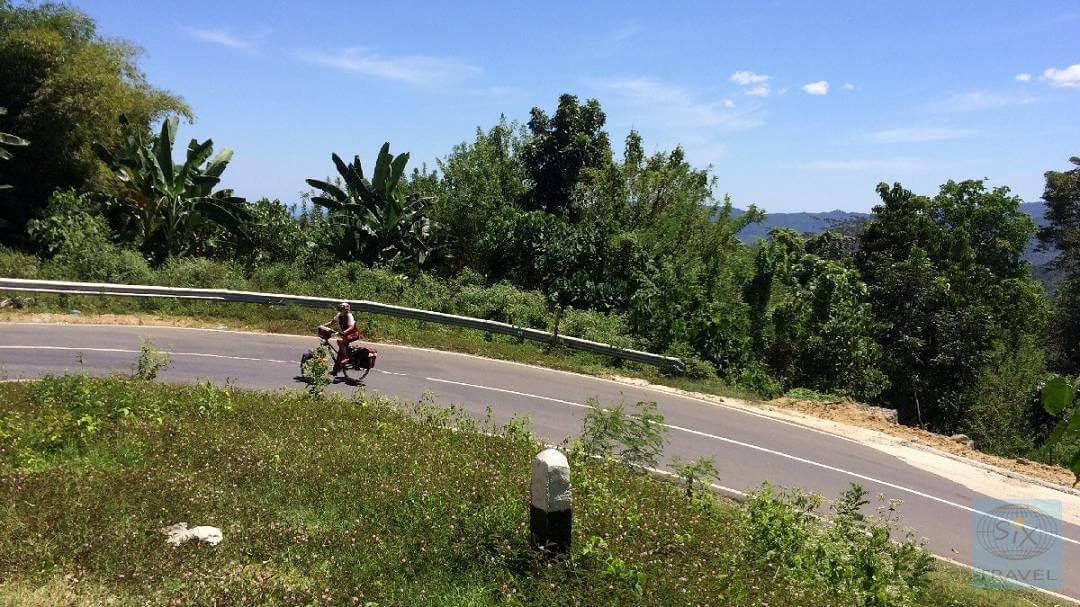Anstiege auf der Insel Flores Ute