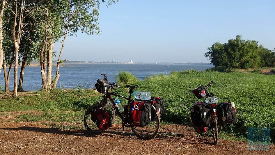 Entlang des Mekong Höhe Kratie