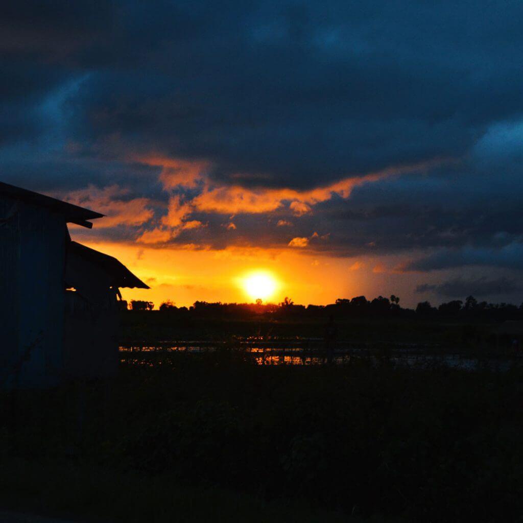 Sonnenuntergang Siem Reap