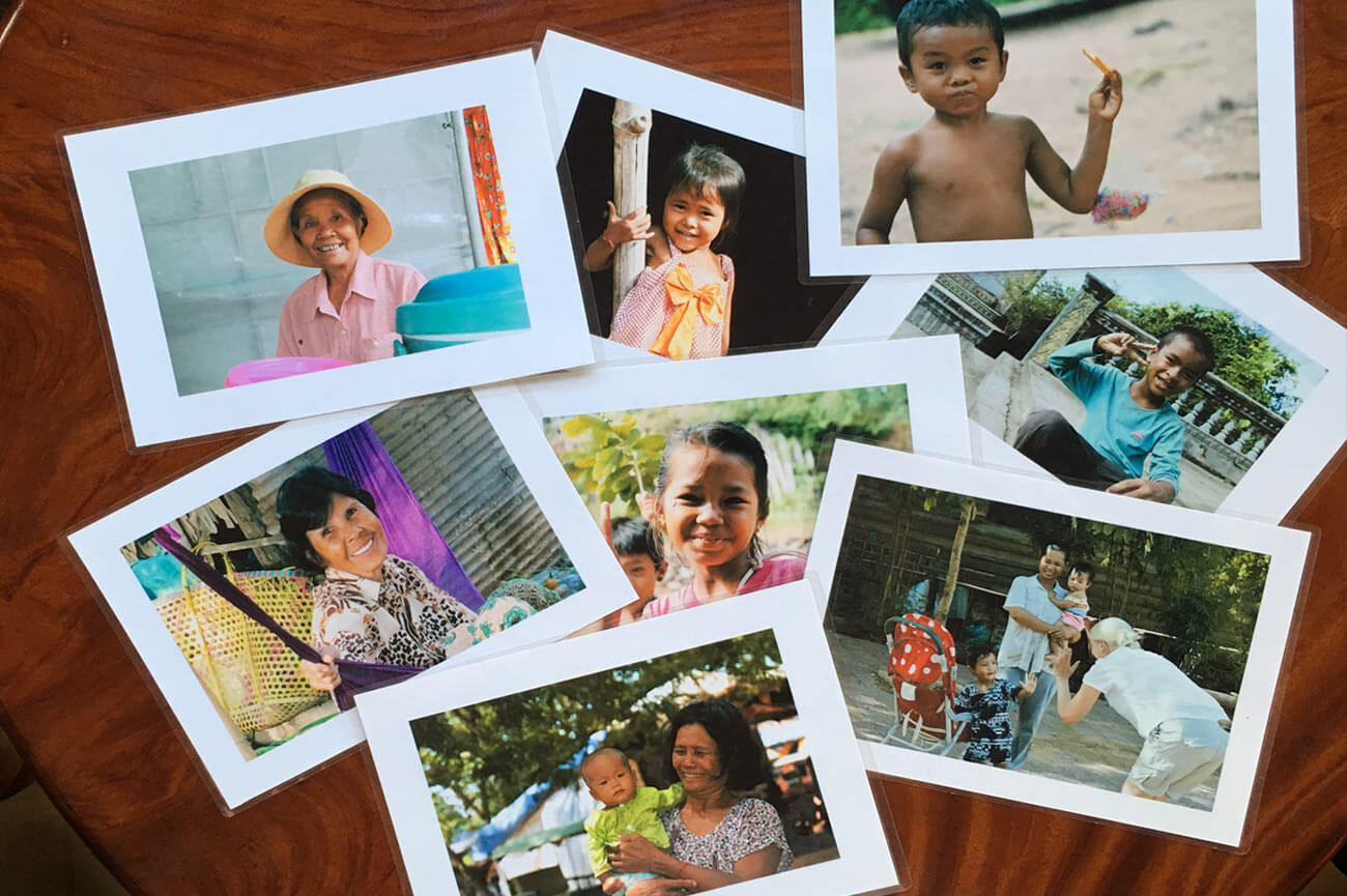 """Die """"Foto-Verschenken-Tour"""" in Siem Reap – ein Projekt"""