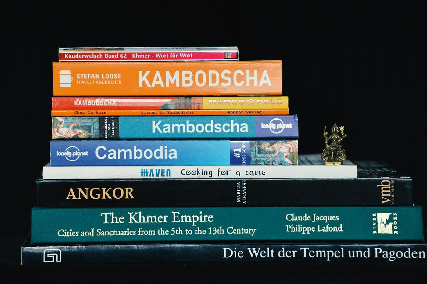 Bücherecke: Reiseführer, Angkor, Khmer-Küche & Co.