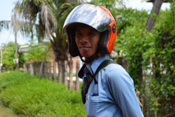 Mainn - Tuk Tuk Fahrer in Siem Reap