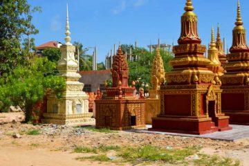 Stupa - Kong Moch Pagode in Siem Reap
