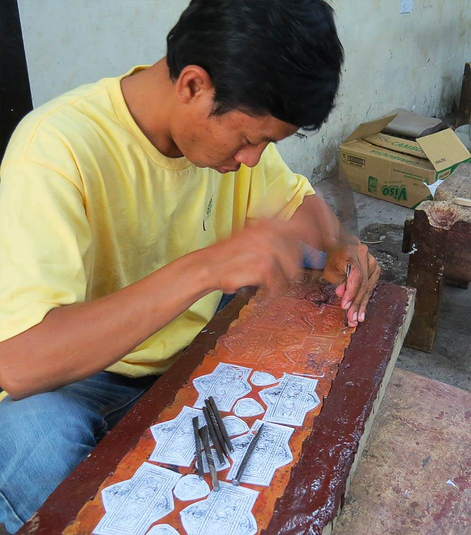Handwerk - Dartisan Angkor in Siem Reap