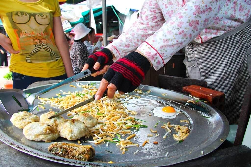 Frühstück Pshar Leu Markt - Siem Reap
