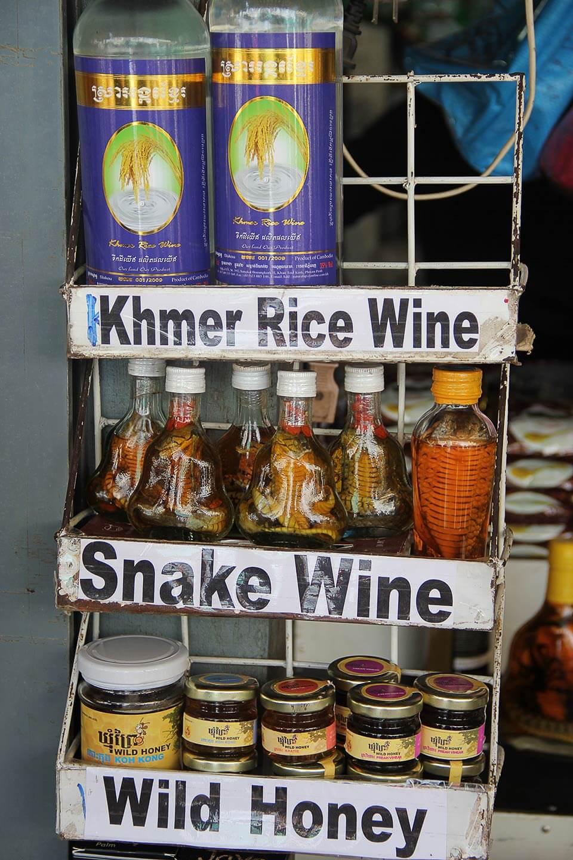 Schlangenwein - Siem Reap